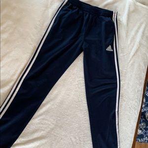 Navy Adidas Soccer Pants
